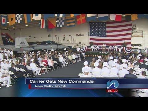 USS George H.W. Bush gets new commander