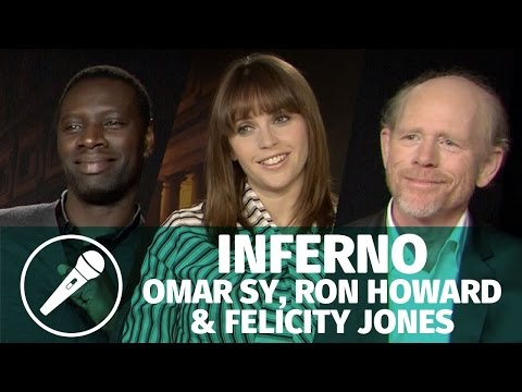 Interview — Omar Sy, Ron Howard et Felicity Jones pour Inferno