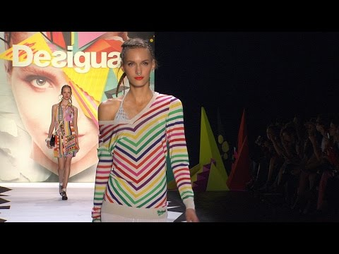 Desigual SS16 Collection 'Learn' - New York Fashion Week