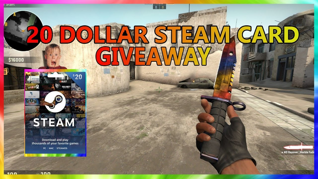20 steam card giveaway may 2019