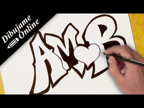como dibujar amor | como dibujar amor paso a paso - YouTube