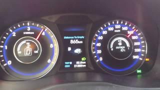 Hyundai i40 sw 1.7crdi aut. 2012 136hp 320nm acceleration 0 100 0 190