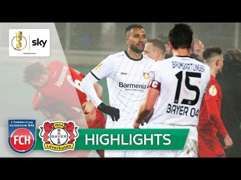 1. FC Heidenheim - Bayer 04 Leverkusen 2:1 | Highlights - DFB-Pokal 2018/19 | Achtelfinale