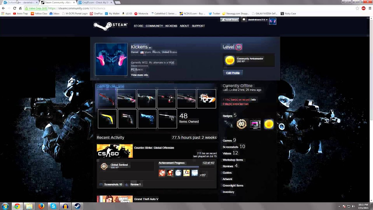 i got vac banned due to my friend 350 inventory cs go. Black Bedroom Furniture Sets. Home Design Ideas