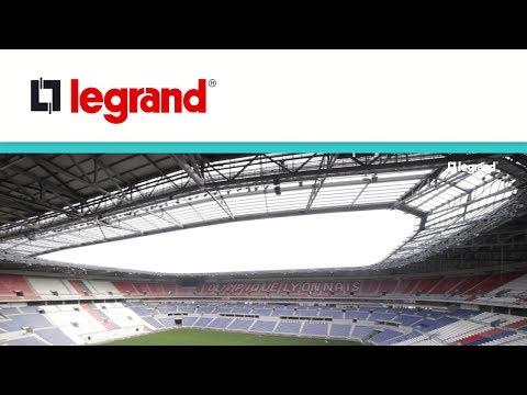 Stade des Lumières à Lyon : des installations électriques VDI Legrand connectées !