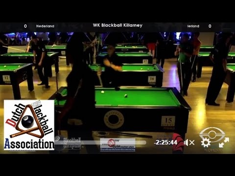 Ireland A vs Netherlands 2016 World Blackball Championships