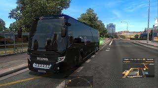 Euro Truck Simulator 2 - A Short Trip in a Long Bus