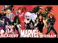 Top 10 Hottest Marvel Comics Women ᴴᴰ