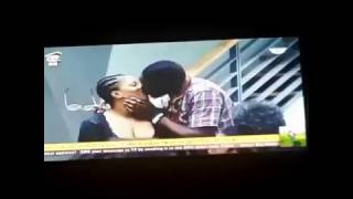 BB9ja- Ese and Balley Kiss and later do more at the 9ja BigBrother House