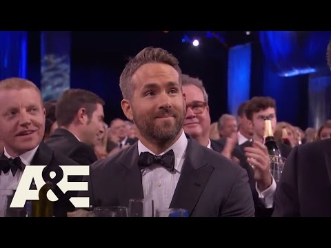 Ryan Reynolds Accepts EW's Entertainer of the Year Award | Critics' Choice Awards | A&E