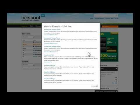Livescore (the old betscout.com livescore back in 2010)