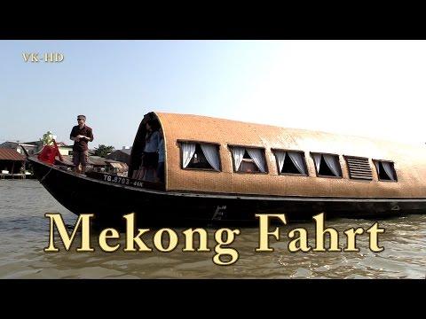 Mekong Delta, schwimmender Markt, Tour Doku (10/13)