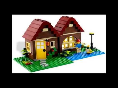Лего  картинки  Смотрите домики ЛЕГО .