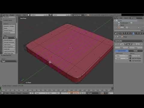 How To Model With Subdivisions In Blender