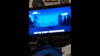 Slender Man vs Unwanted house guest