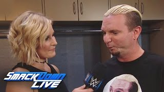 James Ellsworth ist nervös auf sein WWE World Championitel Match: SmackDown LIVE, 18. Oktober 2016
