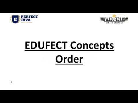 Edufect Concepts : Order of Algorithm : Webinar on Importance of Order of Algorithms