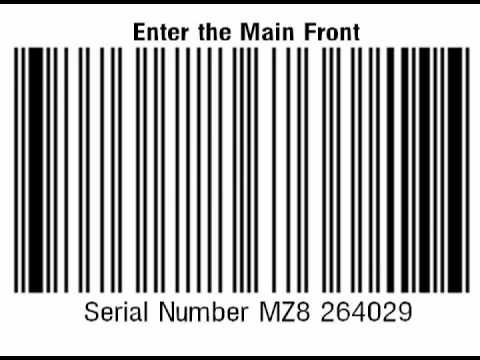 Enter the Main Front - Serial Number MZ8 264029 (instrumental)