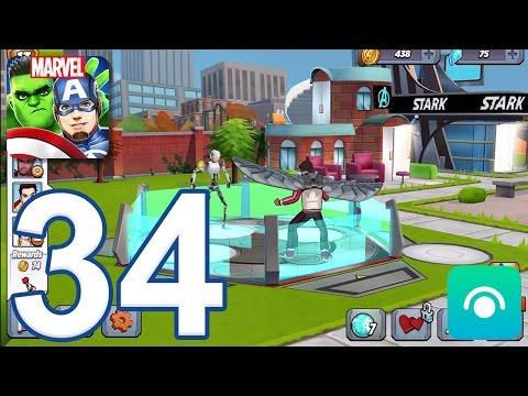 MARVEL Avengers Academy - Gameplay Walkthrough Part 34 - Level 13 (iOS, Android) - 동영상