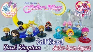 Sailor Moon Petit Chara Dark Kingdom & SuperS Unboxing/ Review ~ セーラームーン