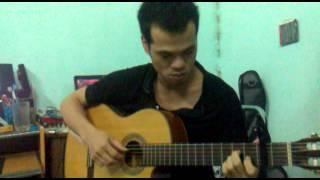 Cafe Đắng Và Mưa guitar Anh Sang
