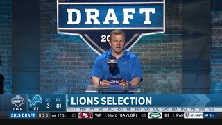 The Detroit Lions Draft Will Harris