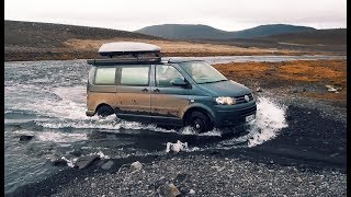 VW T5 4Motion Seikel in Iceland | DJI Mavic Pro (4K)