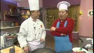 Китайская кухня - Серия 14:  1. Говядина, варенная в соевом соусе 2. Пирожные с джемом