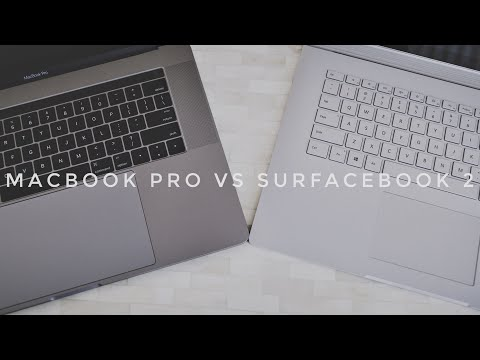 "Surface Book 2 15"" vs Macbook Pro 15"" - Best Mobile Workstation?"