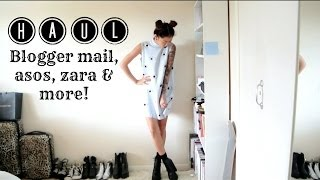 One of idressmyselff's most viewed videos: HAUL | Blogger mail, asos, zara and more! | IDRESSMYSELFF
