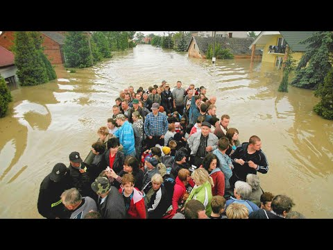 TRAGEDY in France! Reims was Severe Flooded due to Heavy Rain.