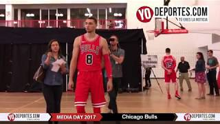 Chicago Bulls Media Day 2017-2018 Season