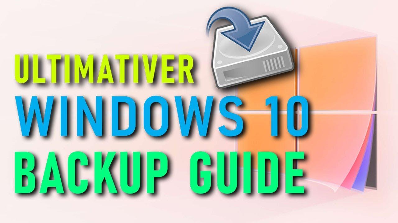 Windows 10 Backup Erstellen Wiederherstellen Der Ultimative Backup Guide Youtube