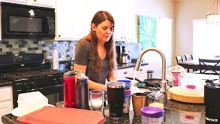 KITCHEN CLEANING MOTIVATION // CLEANING ROUTINE