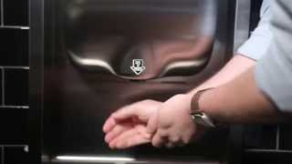 XLERATOR Hand Dryer in Restaurants - Max Burger Case Study by Excel Dryer