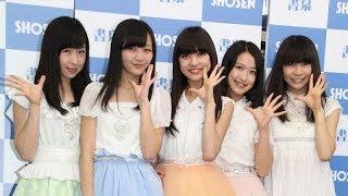 5人組アイドルグループ「東京女子流」が10月18日、書泉ブックタワー(東...