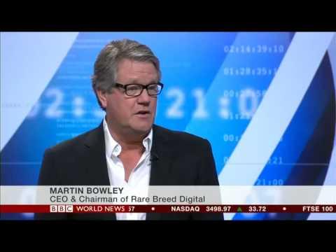 Alistair Crane - Grapple Mobile - BBC World News Interview