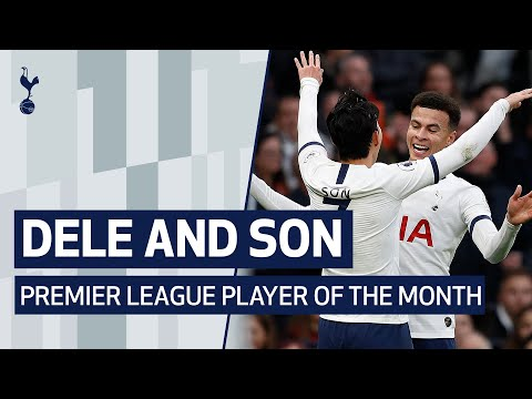 DELE ALLI AND HEUNG-MIN SON'S NOVEMBER BEST BITS | Spurs duo nominated for PL Player of the Month!