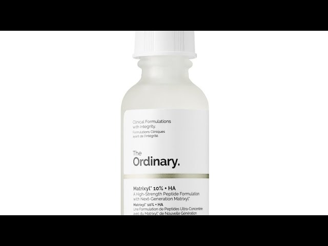 The Ordinary Matrixyl 10 Ha Review And How To Use Youtube