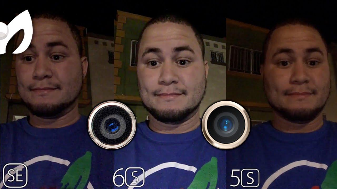 Iphone Se Vs 6s >> Camaras iPhone SE Vs iPhone 6S Vs iPhone 5S COMPARACION - YouTube