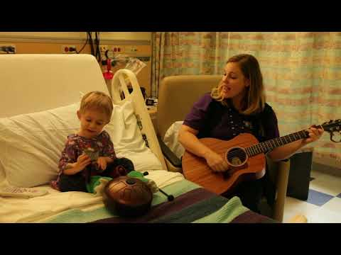 "Theo and Elke perform ""Old McDonald"" in bed 