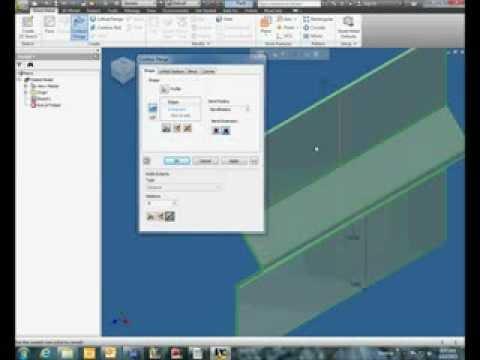 Inventor 2011 Intro To Sheet Metal Doovi