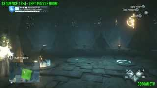 Assassins Creed Unity DLC Dead Kings - All Puzzle Solutions Sequence 13-4 and 13-6