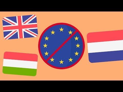 Какие страны выйдут из ЕС ?