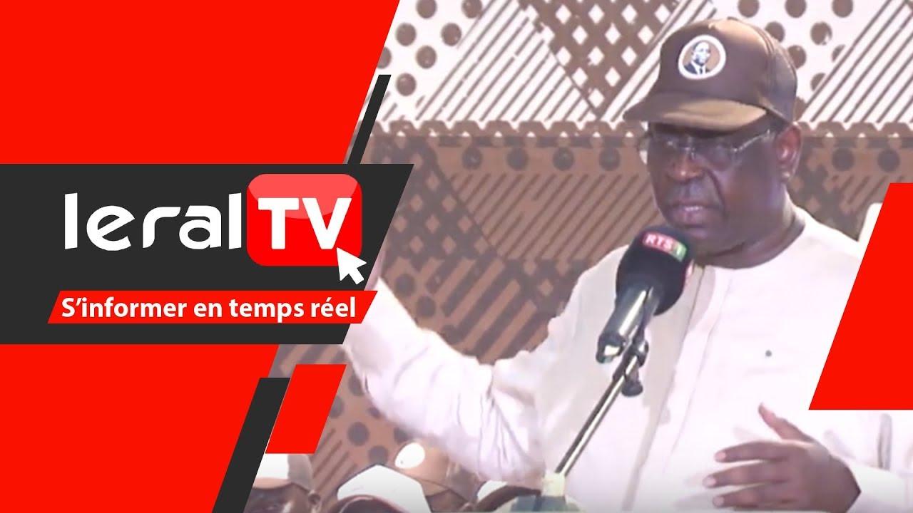 VIDEO - : Macky Sall : « on peut gagner à Fatick à 98% au soir du 24 février »