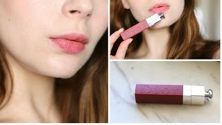NEW DIOR LIP TATTOO- Review & Demo