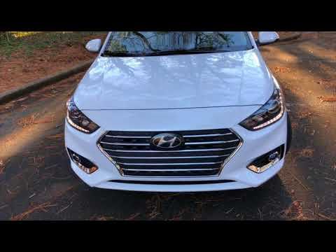 Best Detailed Walkaround 2018 Hyundai Accent Limited