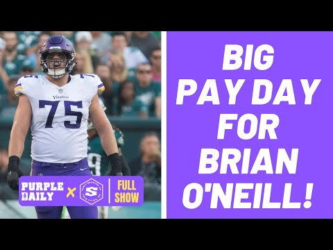 Did Minnesota Vikings make the right decision with Brian O' Neill extension?