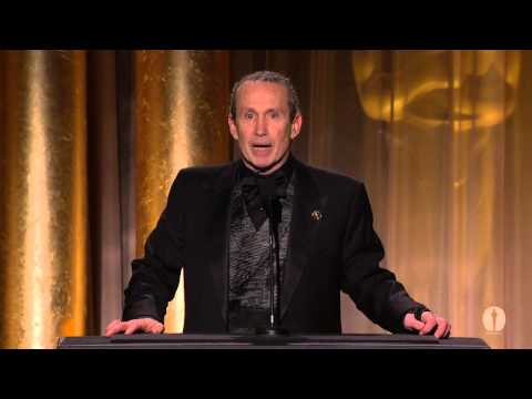 Tom Hanks honors Jeffrey Katzenberg at the 2012 Governors Awards