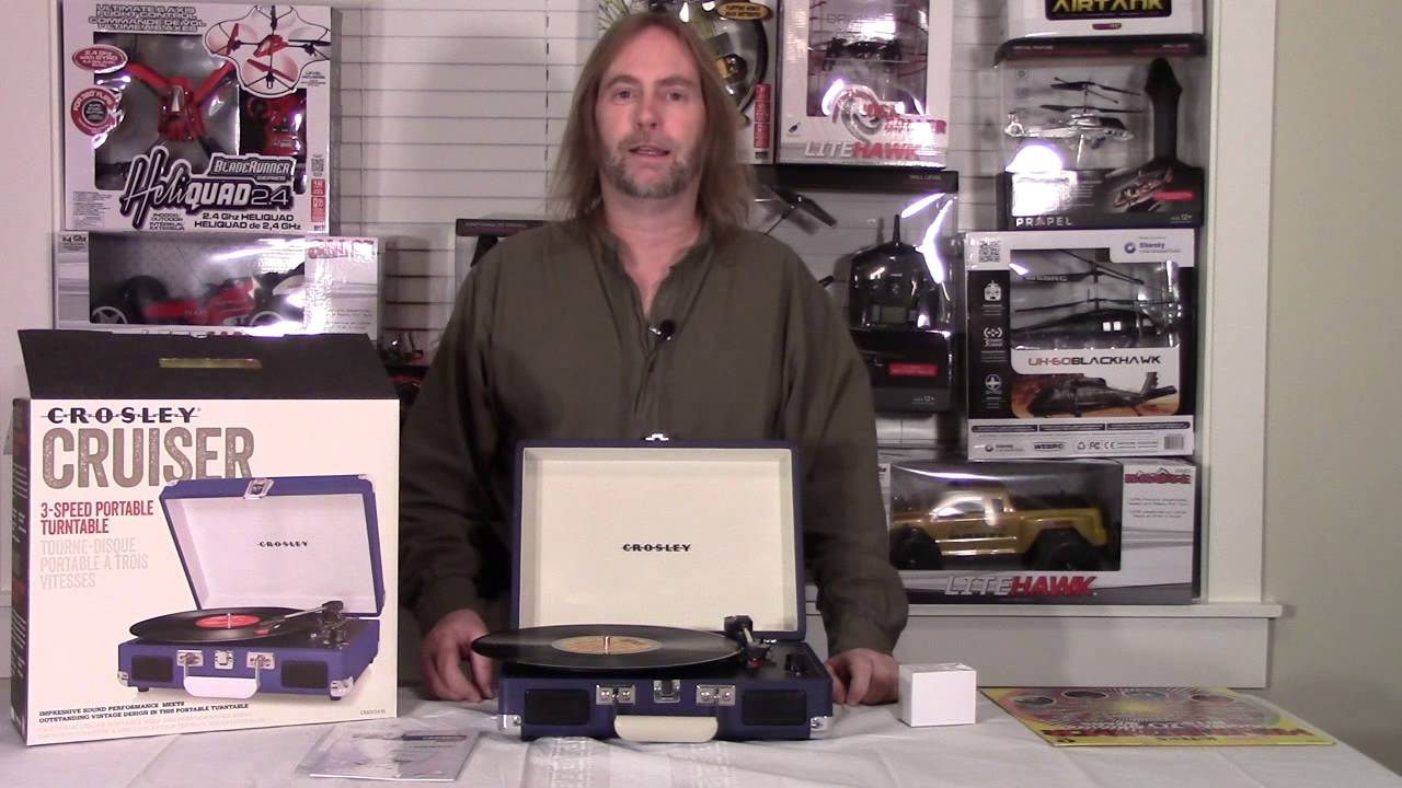 crosley cruiser record player review by bluefishtoys youtube. Black Bedroom Furniture Sets. Home Design Ideas